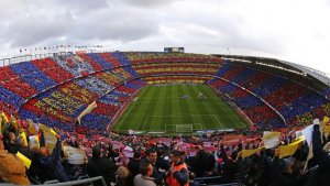 Camp Nou Stadium in Barcelona